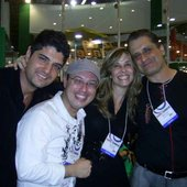 Samuel, Evaristo, Rita e Alberto na EXPO CRISTÃ 2007
