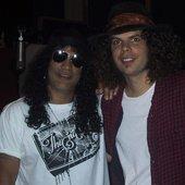 Slash & Andrew Stockdale