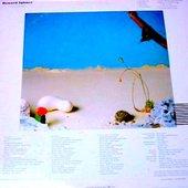 Album ( backside ) / 1977 / Alfa Records ( Japan )