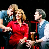 Aaron Tveit, Alice Ripley & J. Robert Spencer