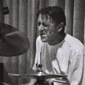 Drummer Lala Kovacev in the 1980s