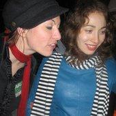 Amanda Palmer and Regina Spektor