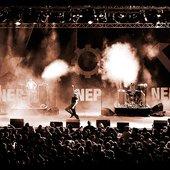 Nitzer Ebb @ Blackfield Festival 2008, Foto: Frank Buttenbender