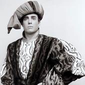 """Giacomo Aragall as Roméo in the opera \""""I Capuleti e i Montecchi\"""" (Teatro Alla Scala)"""