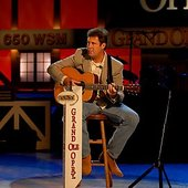 vince at the grand ole opry
