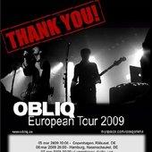obliq european tour 2009