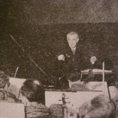 1933 - Rehearsal for the Concerto for the left hand