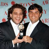 Robert Lopez & Jeff Marx at the Tony Awards