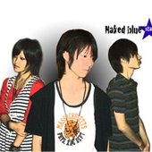 Naked blue star