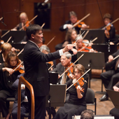 Alan Gilbert conducting the New York Philharmonic