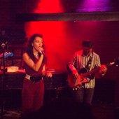 Christine Hoberg - Rockwood Music Hall 2011 - Stanley Wong