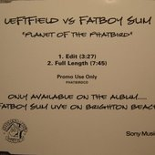 Leftfield vs Fatboy Slim