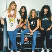 Backstage Clash of the Titans tour 1991