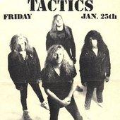 tactics poster