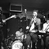 In Action at The Old Blue Last, Shoreditch, London