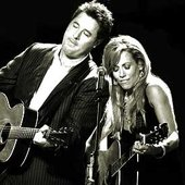 Vince Gill with Sheryl Crow
