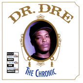 Dr. Dre - The Chronic (High Quality PNG)