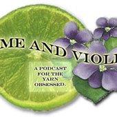lime & violet