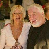 Frida and Jon Lord (ex-Deep Purple)
