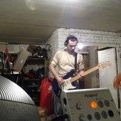 Garik with guitar
