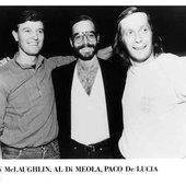 Al DiMeola, John McLaughlin, Paco De Lucia