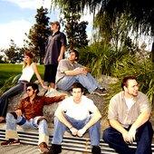 L-R: K8, Sam Hart, sirROCDOMZ, BassSickLee, Bueno, MaxOne