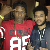 A$AP Rocky and The Weeknd