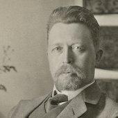 Wilhelm Peterson-Berger, april 1910. Foto: Almberg & Preinitz