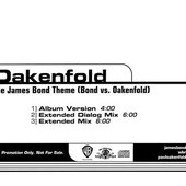 The James Bond Theme (Bond vs. Oakenfold)