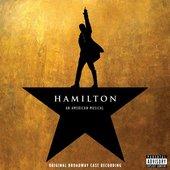 Jasmine Cephas-Jones, Leslie Odom, Jr., Lin-Manuel Miranda, Sydney James Harcourt & Original Broadway Cast of Hamilton