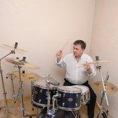 Boris Prokhorov on drums