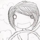 Alex, as drawn by a friend.