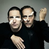 Trent Reznor and Peter Murphy