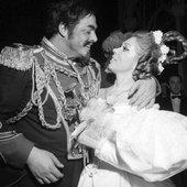 Mirella Freni and Luciano Pavarotti