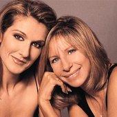 Barbra Streisand & Céline Dion