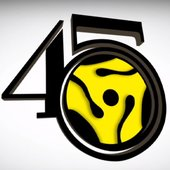 The 45 King logo