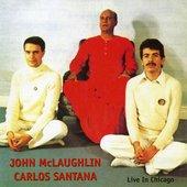 John Mc Laughlin Carlos Santana