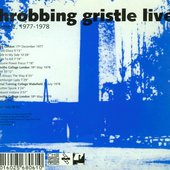 Throbbing Gristle Live - volume 2, 1977-1978 - cover back 2