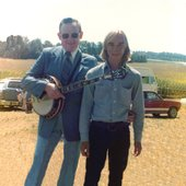 Don Reno with Charlie Cushman