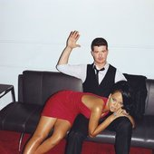 Thicke and Rihanna