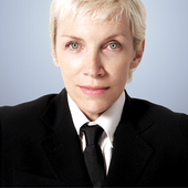 Annie Lennox From Eurythmics - Photo's author not found.