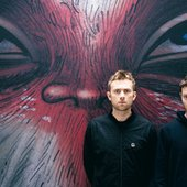 Damon Albarn and Jamie Hewlett