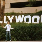 Oller+Hollywood = Ollywood.    Tony in LA 2007
