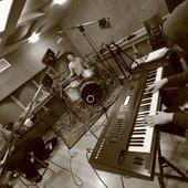 Recordig on studio. Moscow, winter 2011