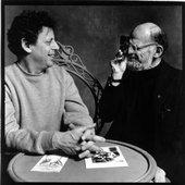 Philip Glass & Allen Ginsberg