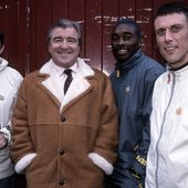 Happy Mondays with Terry Venables, October 1999.