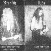 "Kerberos (Netherlands) / Wraith - Hår / from ""Apotheosis of War\"" split"