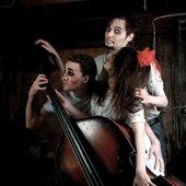 "...musicasten in \""Happy Fish\"" happening - 2 (foto by Volgina Tania)"