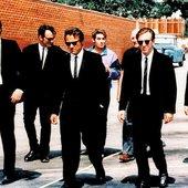 Eddie Bunker, Harvey Keitel, Lawrence Tierney, Quentin Tarantino, Steve Buscemi