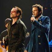 U2 with Brandon Flowers